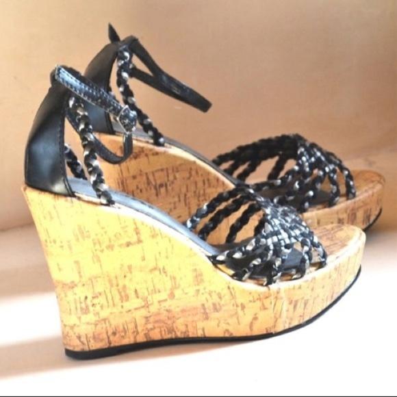 e290c444ceb platform Sandals wedge heels festival boho retro